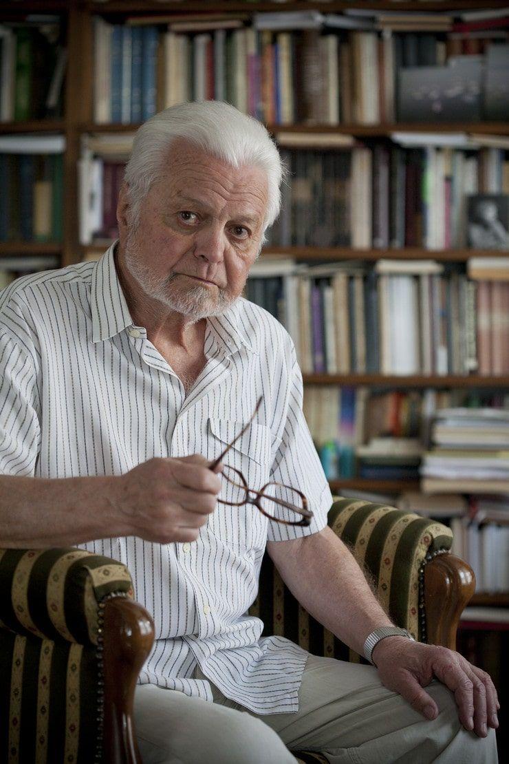 Akademik Ljubomir Simović (photo by Blic)